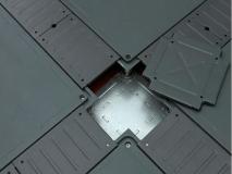 OA扣槽网络地板